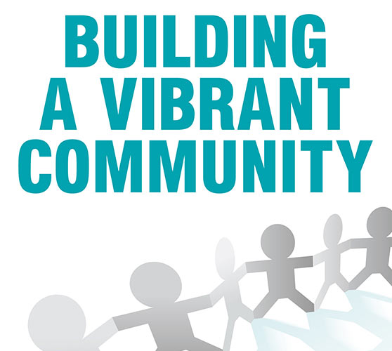 Building a Vibrant Community book cover