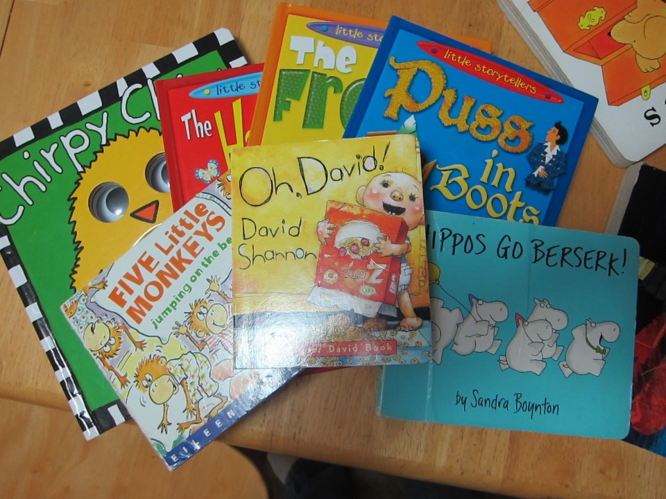 Early learning city books