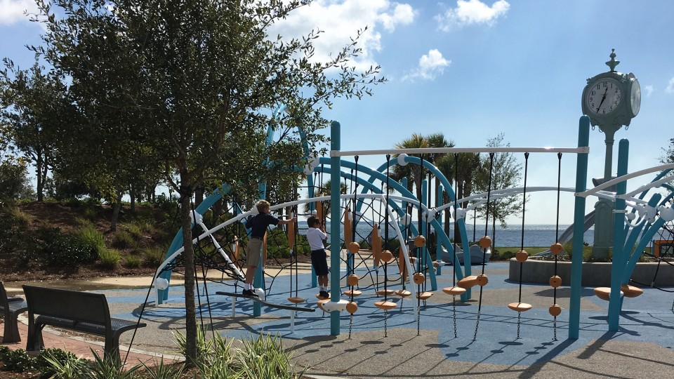 The Rotary Centennial Playground at the Community Maritime Park in downtown Pensacola. Photo credit: Shannon Nickinson